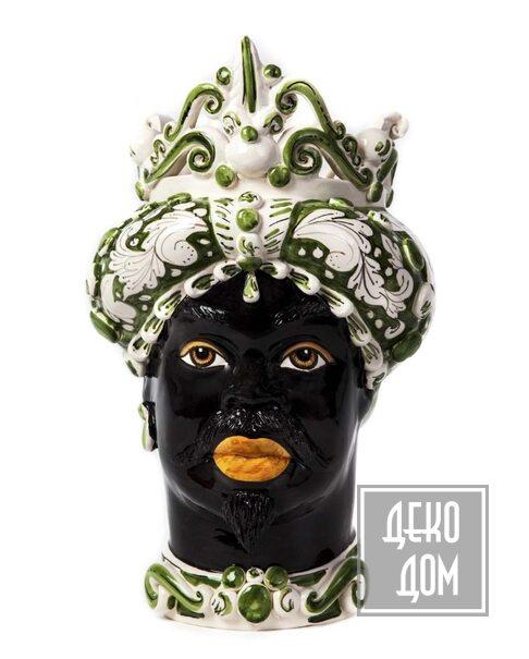 ABHIKA | Ваза Moro Man Medium (арт.200657-86) фото | ✆ +38(067)3-999-700 | Цена в Украине | Оригинальный декор для дома |