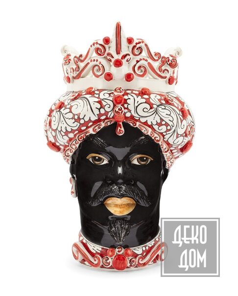 ABHIKA | Ваза Moro Man Medium (арт.200657-40) фото | ✆ +38(067)3-999-700 | Цена в Украине | Оригинальный декор для дома |