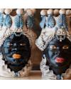ABHIKA | Ваза с подсвечником Moro Lady (арт.200837-80) фото | ✆ +38(067)3-999-700 | Цена в Украине | Оригинальный декор для дома |