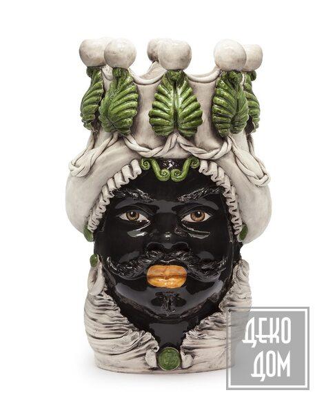ABHIKA | Ваза с подсвечником Moro Man (арт.200838-86) фото | ✆ +38(067)3-999-700 | Цена в Украине | Оригинальный декор для дома |