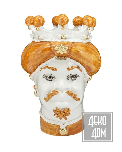 ABHIKA | Ваза Moro Man Medium New (арт.200843-25) фото | ✆ +38(067)3-999-700 | Цена в Украине | Оригинальный декор для дома |