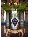 ABHIKA | Ваза Moro Lady Giant With Leaf (арт.200845) фото | ✆ +38(067)3-999-700 | Цена в Украине | Оригинальный декор для дома |