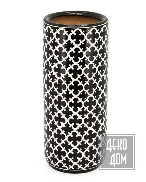 ABHIKA | Напольная ваза Ming Flower 62cm (арт.200956-BW) фото | ✆ +38(067)3-999-700 | Цена в Украине | Оригинальный декор для дома |