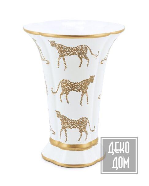 ABHIKA | Ваза Panther 35cm (арт.201009-W) фото | ✆ +38(067)3-999-700 | Цена в Украине | Оригинальный декор для дома |