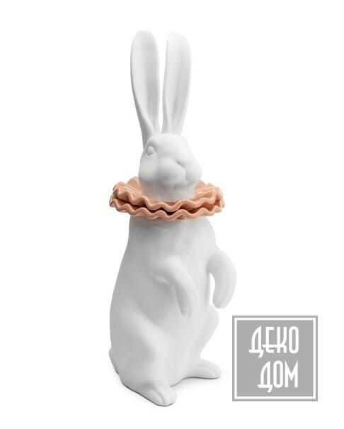 ABHIKA | Статуэтка Rabbit Collar (арт.600314-52) фото | ✆ +38(067)3-999-700 | Цена в Украине | Оригинальный декор для дома |