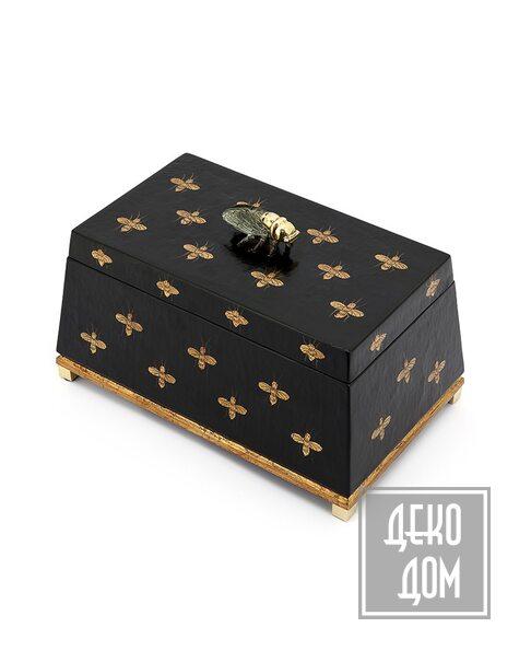 ABHIKA | Шкатулка Krizia Bee (арт.600564) фото | ✆ +38(067)3-999-700 | Цена в Украине | Оригинальный декор для дома |