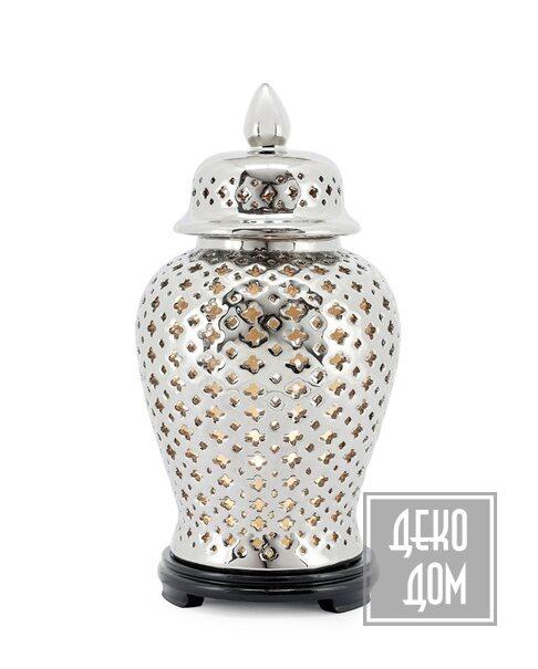 ABHIKA | Настольная лампа Ming Cross H48cm (арт.500137-02) фото | ✆ +38(067)3-999-700 | Цена в Украине | Оригинальный декор для дома |