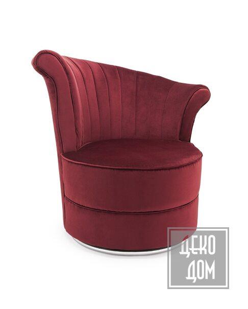 ABHIKA | Кресло Fanit Velvet (арт.700397-44) фото | ✆ +38(067)3-999-700 | Цена в Украине | Оригинальный декор для дома |