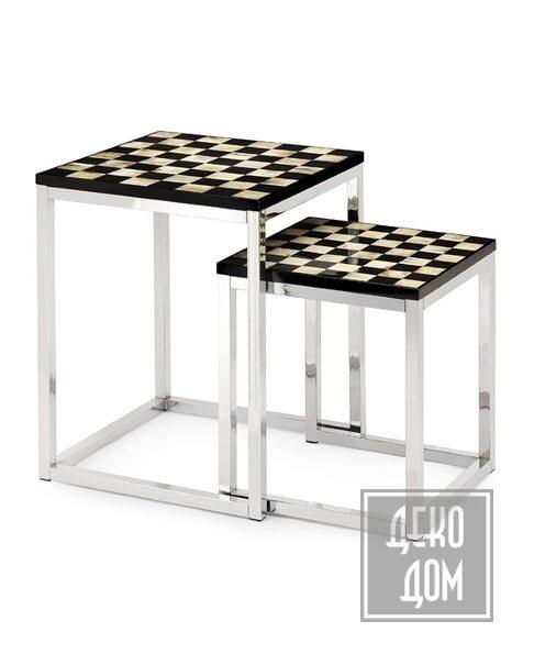 ABHIKA | Столик Checker (арт.450188) фото | ✆ +38(067)3-999-700 | Цена в Украине | Оригинальный декор для дома |