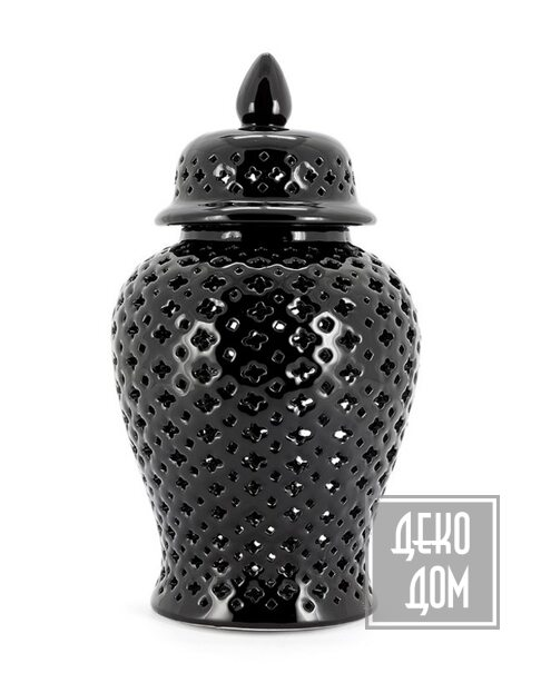 ABHIKA | Китайская ваза Ming Cross H46cm (арт.200402-B) фото | ✆ +38(067)3-999-700 | Цена в Украине | Оригинальный декор для дома |