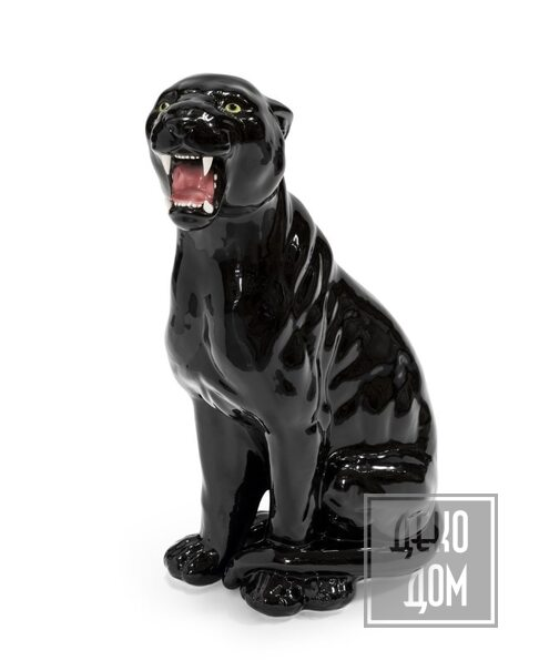 ABHIKA | Скульптура Leopard DX (арт.600318-SB) фото | ✆ +38(067)3-999-700 | Цена в Украине | Оригинальный декор для дома |
