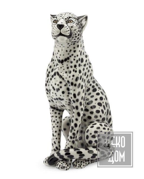 ABHIKA | Скульптура Cheetah (арт.600431-WB) фото | ✆ +38(067)3-999-700 | Цена в Украине | Оригинальный декор для дома |