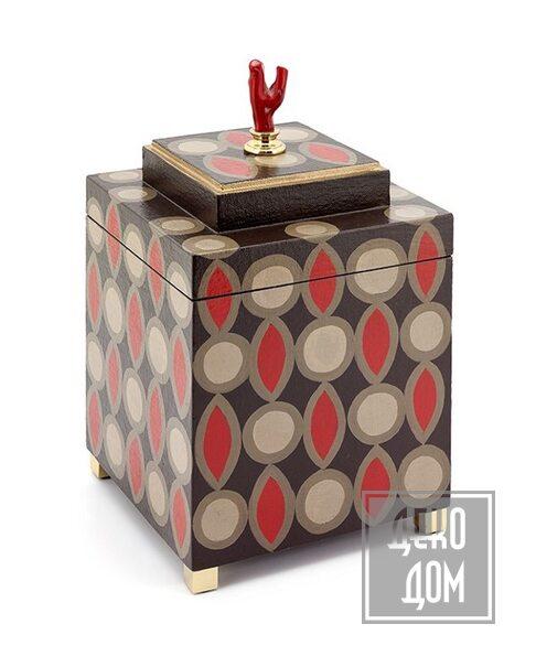 ABHIKA | Шкатулка Krizia 70`S (арт.600578) фото | ✆ +38(067)3-999-700 | Цена в Украине | Оригинальный декор для дома |