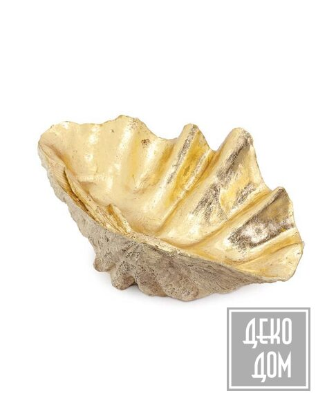ABHIKA | Декор Tridacna L69 (арт.600601-01) фото | ✆ +38(067)3-999-700 | Цена в Украине | Оригинальный декор для дома |