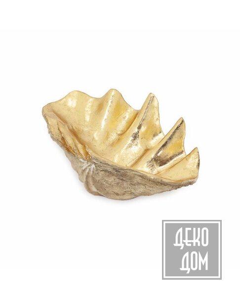 ABHIKA | Декор Tridacna L58 (арт.600602-01) фото | ✆ +38(067)3-999-700 | Цена в Украине | Оригинальный декор для дома |