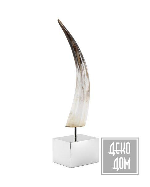 ABHIKA | Настольный декор Horn on Cube (арт.600779-00) фото | ✆ +38(067)3-999-700 | Цена в Украине | Оригинальный декор для дома |