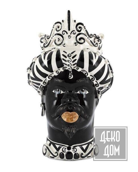 ABHIKA | Ваза Moro Man Medium (арт.200657-ZB) фото | ✆ +38(067)3-999-700 | Цена в Украине | Оригинальный декор для дома |