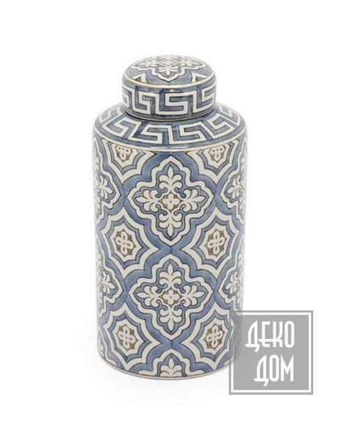ABHIKA | Сосуд Delfi H28 (арт.200832) фото | ✆ +38(067)3-999-700 | Цена в Украине | Оригинальный декор для дома |