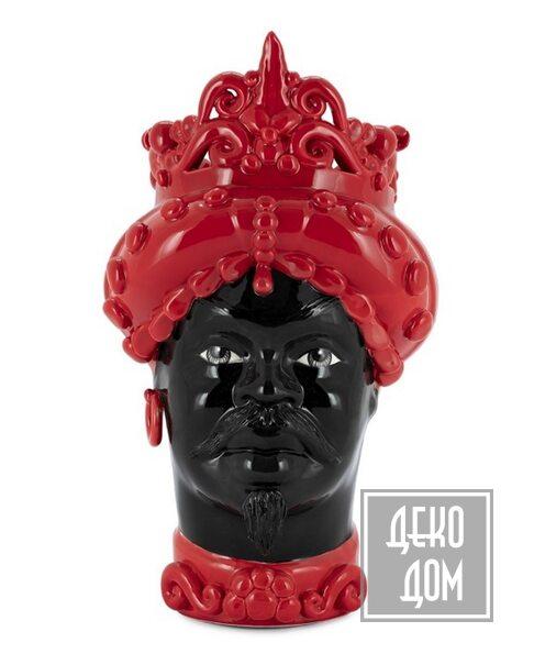 ABHIKA | Ваза Moro Man Med. Simply H45 (арт.201065-R) фото | ✆ +38(067)3-999-700 | Цена в Украине | Оригинальный декор для дома |