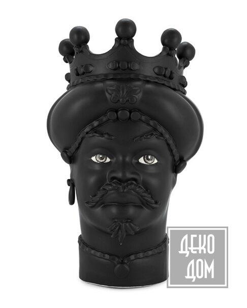 ABHIKA | Ваза Moro Man Black H45 (арт.201073-B) фото | ✆ +38(067)3-999-700 | Цена в Украине | Оригинальный декор для дома |