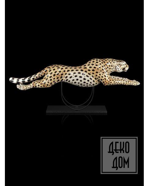 ABHIKA | Статуэтка Running Cheetah L87cm (арт.600428-MI) фото | ✆ +38(067)3-999-700 | Цена в Украине | Оригинальный декор для дома |