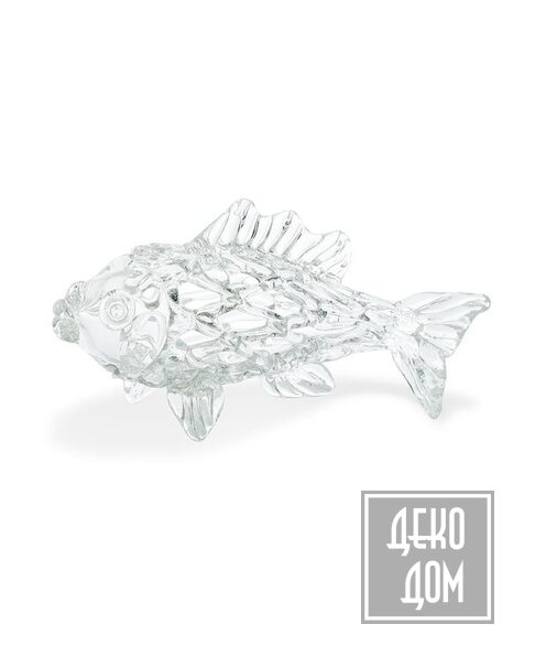 ABHIKA | Статуэтка Fish Mesh Slim L35cm (арт.710172) фото | ✆ +38(067)3-999-700 | Цена в Украине | Оригинальный декор для дома |