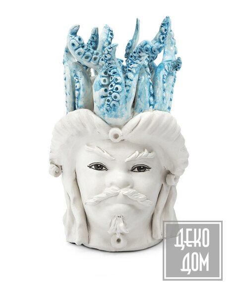ABHIKA | Ваза Moro Man Small Tentacles (арт.200999-82) фото | ✆ +38(067)3-999-700 | Цена в Украине | Оригинальный декор для дома |