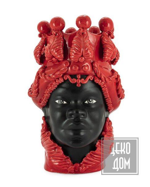 ABHIKA | Ваза Moro Big Lady Simply Mat (арт.201082-40) фото | ✆ +38(067)3-999-700 | Цена в Украине | Оригинальный декор для дома |