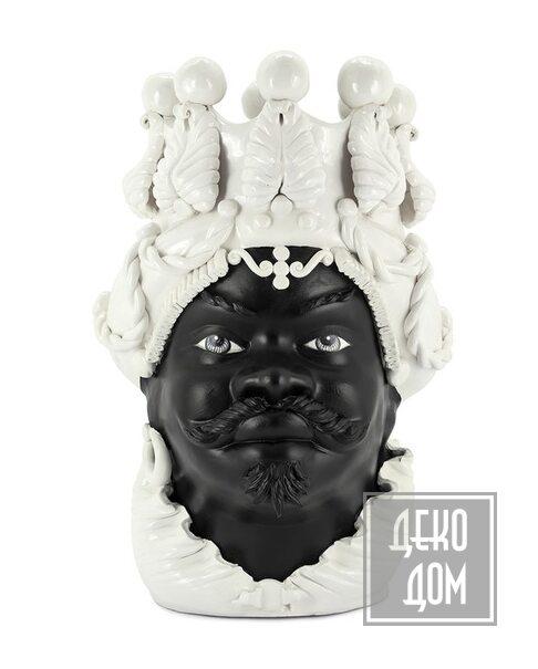 ABHIKA | Ваза Moro Big Man Simply Mat (арт.201083-10) фото | ✆ +38(067)3-999-700 | Цена в Украине | Оригинальный декор для дома |