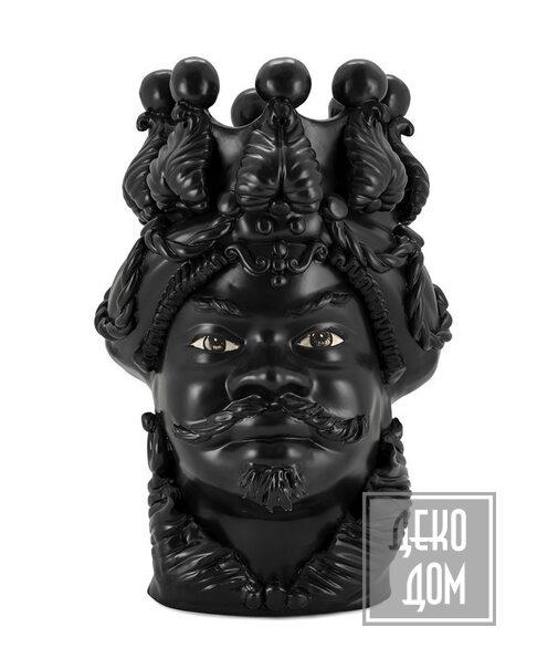 ABHIKA | Ваза Moro Big Man Simply Mat (арт.201083-BT) фото | ✆ +38(067)3-999-700 | Цена в Украине | Оригинальный декор для дома |