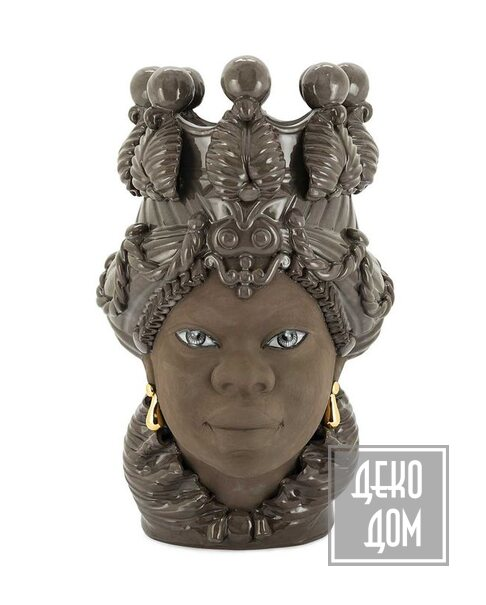 ABHIKA | Ваза Moro Big Lady Mud (арт.201140-MD) фото | ✆ +38(067)3-999-700 | Цена в Украине | Оригинальный декор для дома |
