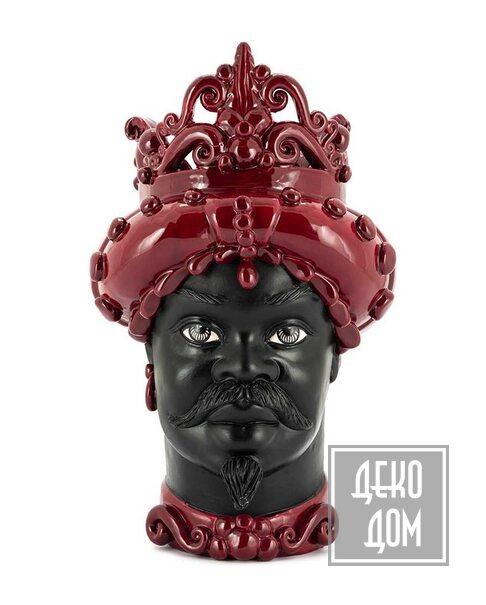 ABHIKA | Ваза Moro Man Medium Mat (арт.201142-48) фото | ✆ +38(067)3-999-700 | Цена в Украине | Оригинальный декор для дома |