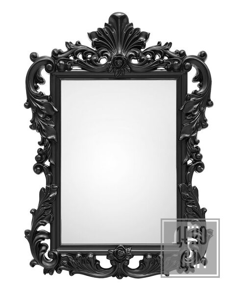 ABHIKA | Настенное зеркало Royal 110x80cm (арт.600922-90) фото | ✆ +38(067)3-999-700 | Цена в Украине | Оригинальный декор для дома |