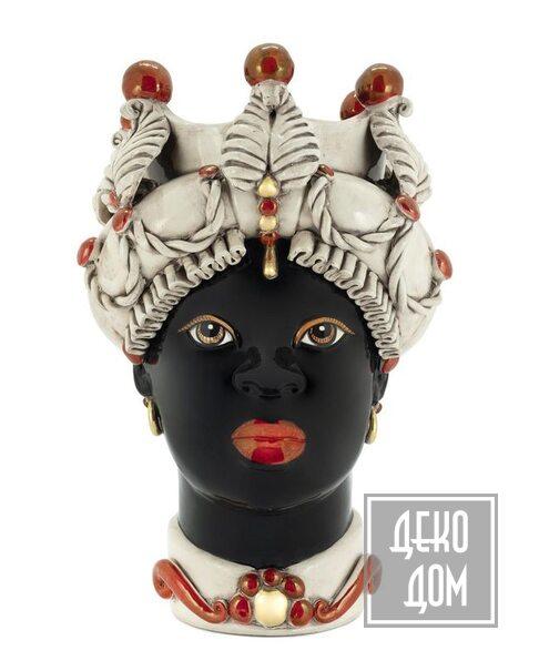 ABHIKA | Ваза Moro Lady Baroque (арт.200945-LU) фото | ✆ +38(067)3-999-700 | Цена в Украине | Оригинальный декор для дома |
