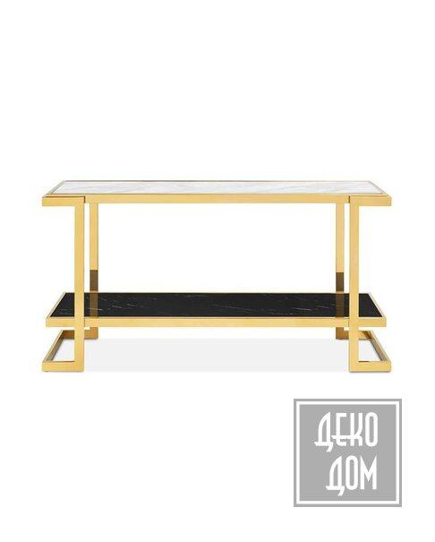 ABHIKA   Консольный столик Crowne Marble (арт.450286-18) фото   ✆ +38(067)3-999-700   Цена в Украине   Оригинальный декор для дома  
