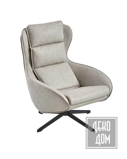 Dialma Brown | Вращающееся кресло DB005390 фото | ✆ +38(067)3-999-700 | Цена в Украине | Оригинальный декор для дома |