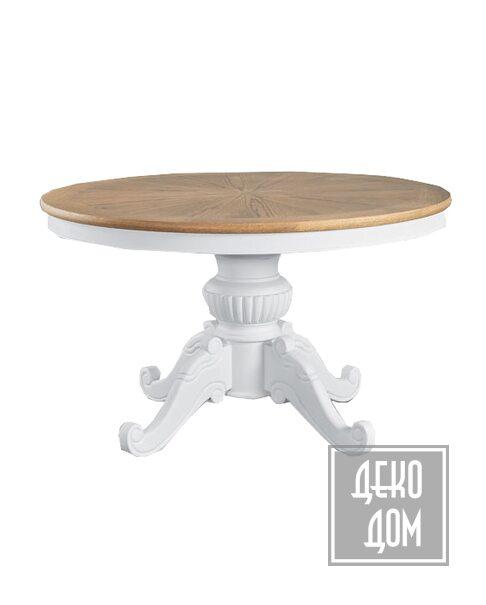 Dialma Brown   Обеденный стол DB004855 (Ø130cm) фото   ✆ +38(067)3-999-700   Цена в Украине   Оригинальный декор для дома  