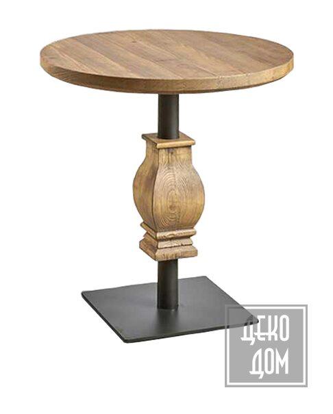 Dialma Brown | Обеденный стол DB005687 (Ø70cm) фото | ✆ +38(067)3-999-700 | Цена в Украине | Оригинальный декор для дома |