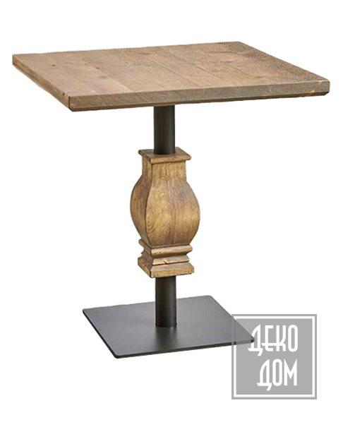 Dialma Brown | Обеденный стол DB005688 (70x70cm) фото | ✆ +38(067)3-999-700 | Цена в Украине | Оригинальный декор для дома |