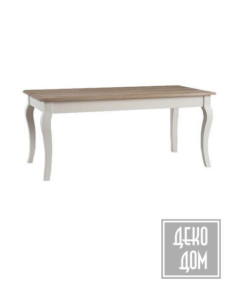 Dialma Brown   Обеденный стол DB006148 (180x90cm) фото   ✆ +38(067)3-999-700   Цена в Украине   Оригинальный декор для дома  