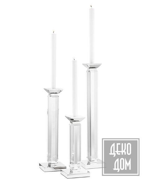 Eichholtz | Подсвечник Livia set of 3 (арт.110637) фото | ✆ +38(067)3-999-700 | Цена в Украине | Оригинальный декор для дома |