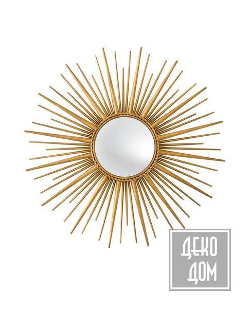 Eichholtz | Настенное зеркало Helios Ø96cm (арт.110329) фото | ✆ +38(067)3-999-700 | Цена в Украине | Оригинальный декор для дома |