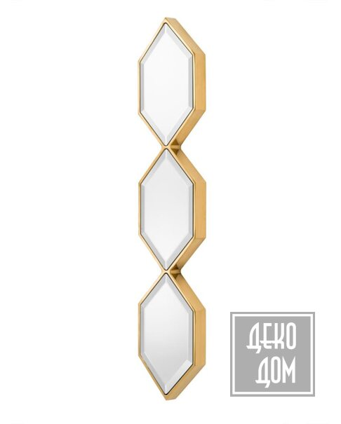 Eichholtz   Настенное зеркало Saronno 110x25cm (арт.111075) фото   ✆ +38(067)3-999-700   Цена в Украине   Оригинальный декор для дома  