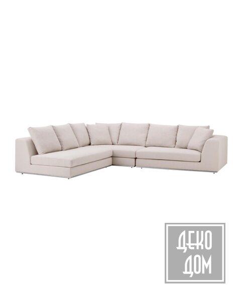 Eichholtz | Угловой диван Richard Gere (арт.110767) фото | ✆ +38(067)3-999-700 | Цена в Украине | Оригинальный декор для дома |