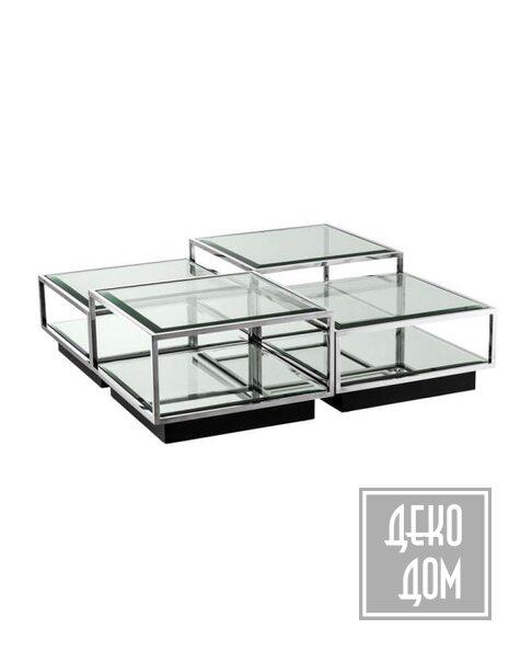 Eichholtz | Кофейный столик Tortona set of 4 (арт.111074) фото | ✆ +38(067)3-999-700 | Цена в Украине | Оригинальный декор для дома |