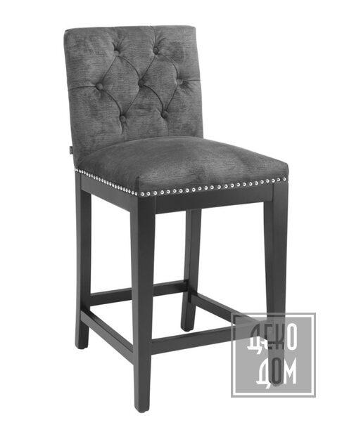 Eichholtz   Полубарный стул Domino (арт.110940) фото   ✆ +38(067)3-999-700   Цена в Украине   Оригинальный декор для дома  