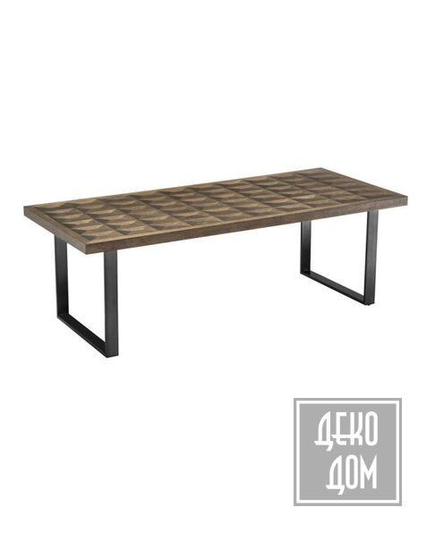 Eichholtz | Обеденный стол Gregorio 230x100cm (арт.112004) фото | ✆ +38(067)3-999-700 | Цена в Украине | Оригинальный декор для дома |