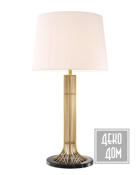 Eichholtz   Настольная лампа Biennale (арт.113059) фото   ✆ +38(067)3-999-700   Цена в Украине   Оригинальный декор для дома  