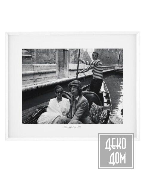 Eichholtz | Картина Mick Jagger, Venice (арт.113861) фото | ✆ +38(067)3-999-700 | Цена в Украине | Оригинальный декор для дома |