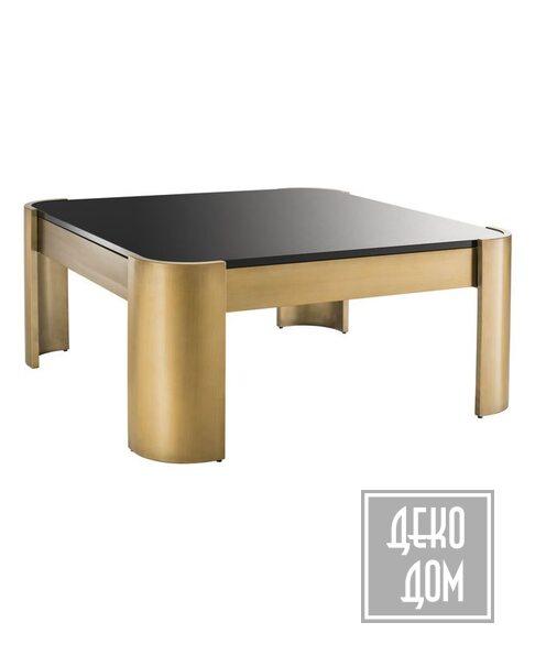 Eichholtz | Кофейный столик Courrier 100x100cm (арт.113333) фото | ✆ +38(067)3-999-700 | Цена в Украине | Оригинальный декор для дома |